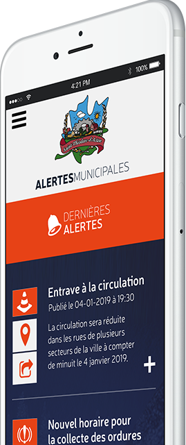 Alertes - Municipalité de Saint-Th�odore-d'Acton